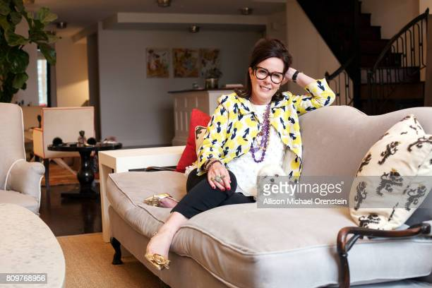 Designer Kate Spade is photographed for Rhapsody Magazine on May 3 2016 in New York City PUBLISHED IMAGE