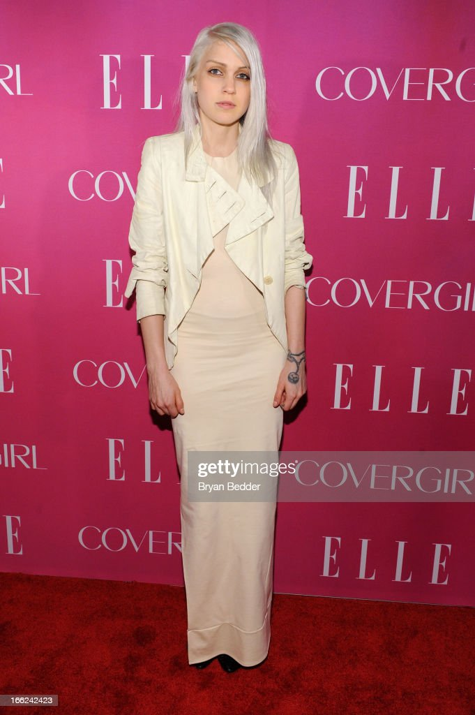 Designer Katie Gallagher attends the 4th Annual ELLE Women in Music Celebration at The Edison Ballroom on April 10, 2013 in New York City.
