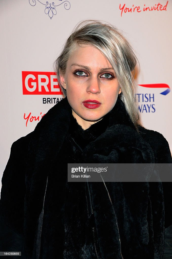 Designer Katie Gallagher attends The Big British Invite launch at 78 Mercer Street on March 21, 2013 in New York City.