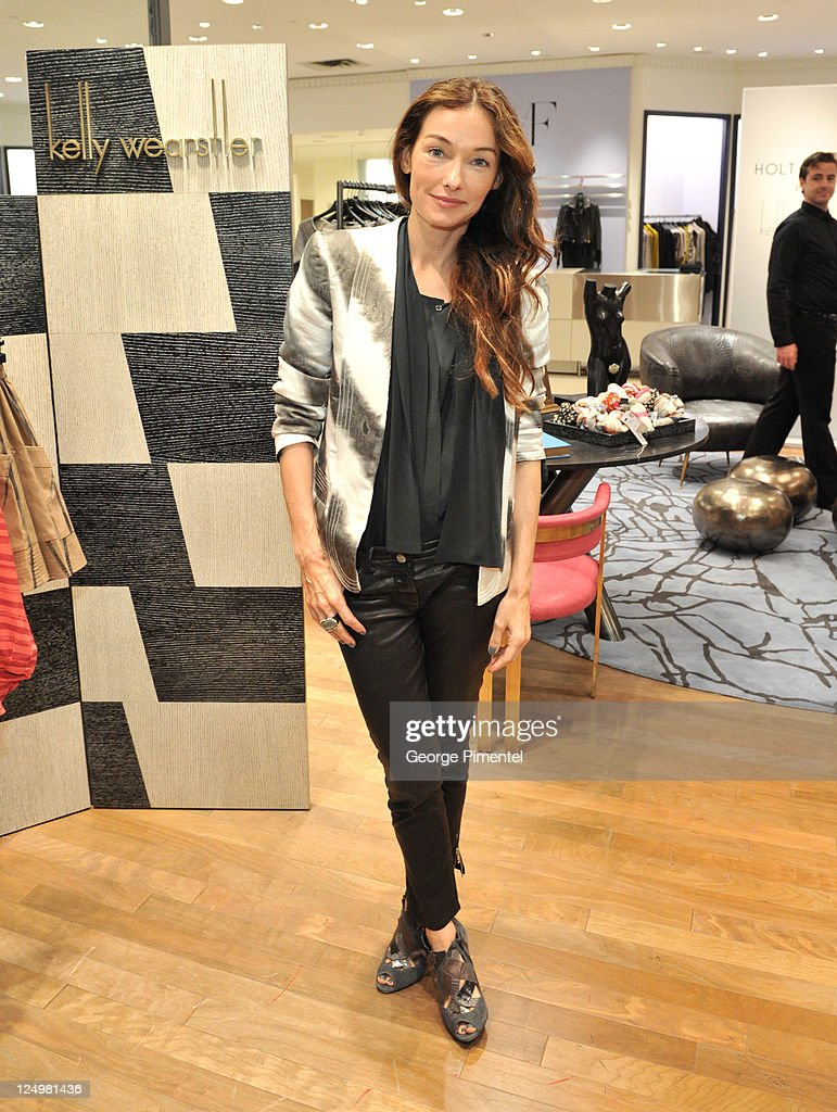 Designer Kelly Wearstler attends a cocktail reception in her honour at Holt Renfrew, Bloor Street on September 14, 2011 in Toronto, Canada.