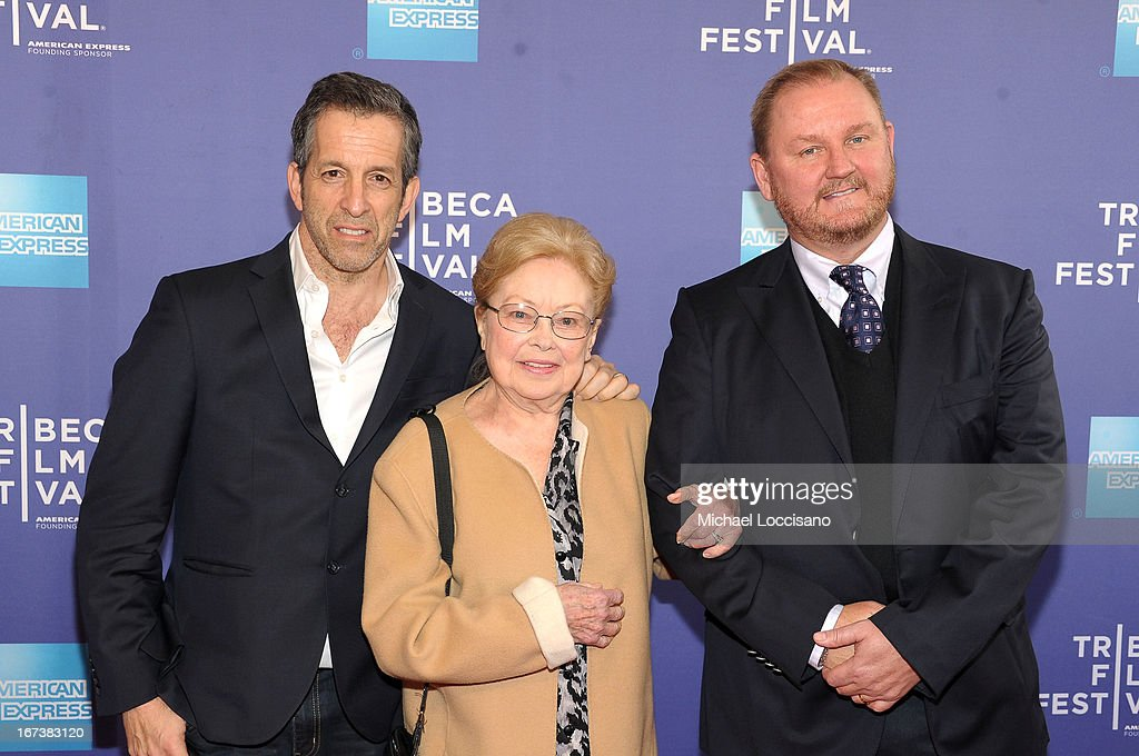 Designer Kenneth Cole, amfAR Founding Chairman Dr. Mathilde Krim and Kevin Robert Frost attend HBO's 'The Battle of amfAR' premiere at Tribeca Film Festival on April 24, 2013 in New York City.