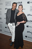 Designer Kenneth Cole and Kelly Osbourne attend the 4th Annual Solstice Presented By amfAR's generationCURE at the Hudson Hotel on June 23 2015 in...