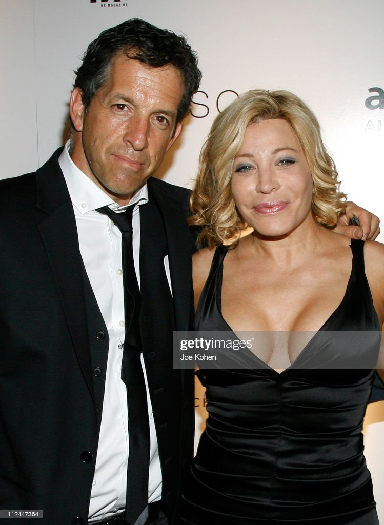 Designer Kenneth Cole and singer Taylor Dayne attend the 9th Annual amfAR Honoring With Pride Celebration at the Hudson on June 9 2008 in New York...