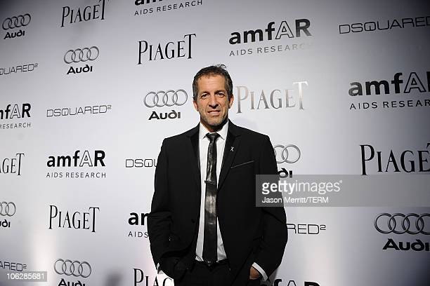 Designer Kenneth Cole arrives at the amfAR Inspiration Gala celebrating men's style with Piaget and DSquared 2 at Chateau Marmont on October 27 2010...