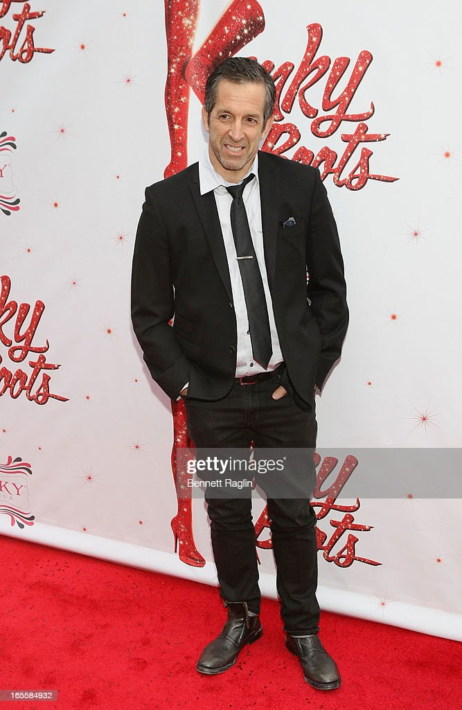 Designer Kenneth Cole attends Media Opening for Kinky Boots on Broadway at the Al Hirschfeld Theatre on April 4, 2013 in New York City.