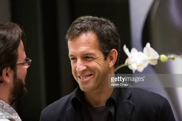 Designer Kenneth Cole attends the 925 Technology Silver Edition Footwear Launch Party at Kenneth Cole Store on November 5 2009 in San Francisco...