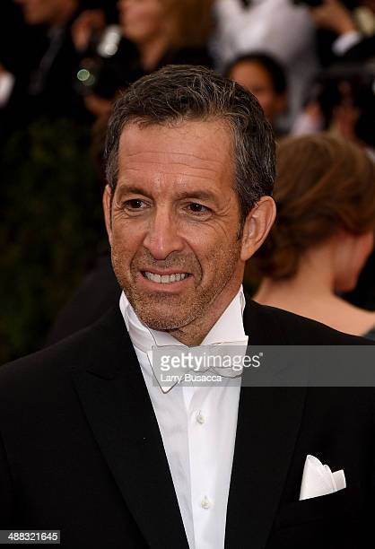 Designer Kenneth Cole attends the 'Charles James Beyond Fashion' Costume Institute Gala at the Metropolitan Museum of Art on May 5 2014 in New York...