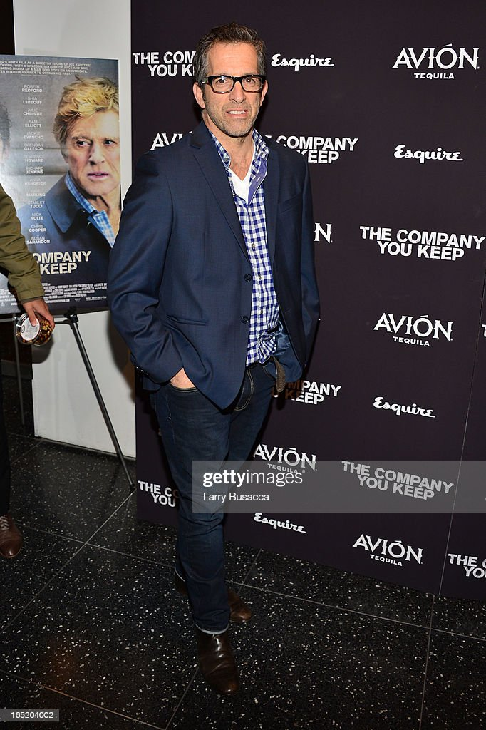 Designer Kenneth Cole attends 'The Company You Keep' New York Premiere at The Museum of Modern Art on April 1, 2013 in New York City.