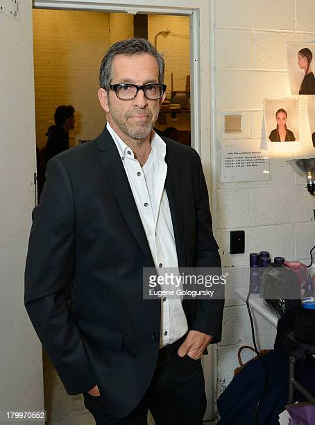 Designer Kenneth Cole attends the Kenneth Cole Collection runway during Spring 2014 MercedesBenz Fashion Week on September 7 2013 in New York City