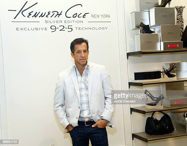 Designer Kenneth Cole attends the Silver 925 Technology launch at the Kenneth Cole New York Rockefeller Center Store on August 7 2009 in New York City