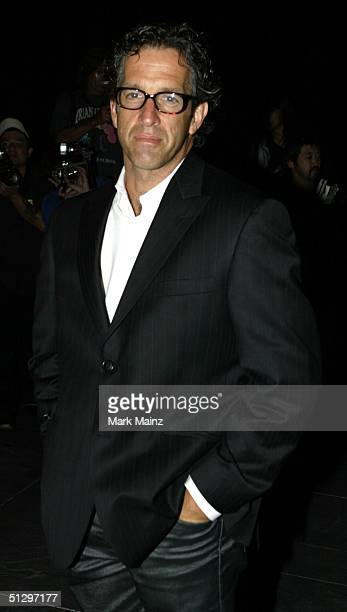 Designer Kenneth Cole poses at the Coty 100th Anniversary Celebration during Olympus Fashion Week Spring 2005 at the American Museum of Natural...