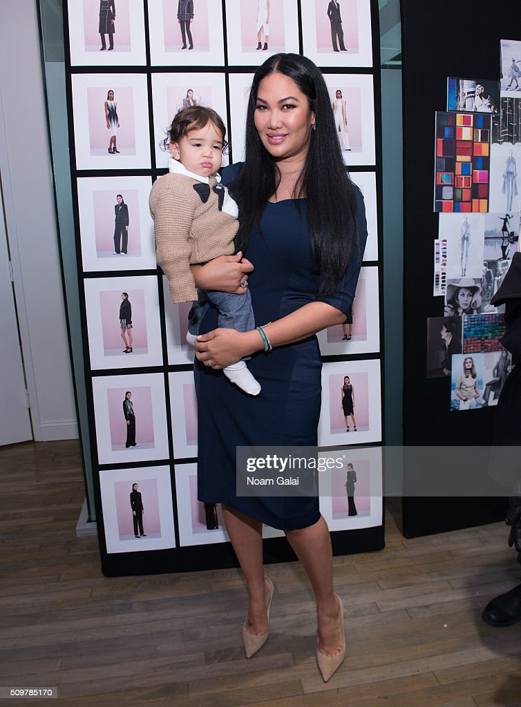 Designer <a gi-track='captionPersonalityLinkClicked' href=/galleries/search?phrase=Kimora+Lee+Simmons&family=editorial&specificpeople=203004 ng-click='$event.stopPropagation()'>Kimora Lee Simmons</a> poses at the <a gi-track='captionPersonalityLinkClicked' href=/galleries/search?phrase=Kimora+Lee+Simmons&family=editorial&specificpeople=203004 ng-click='$event.stopPropagation()'>Kimora Lee Simmons</a> presentation during Fall 2016 New York Fashion Week on February 12, 2016 in New York City.