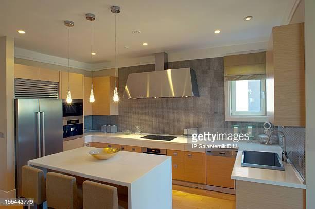 Designer kitchen modern house mansion