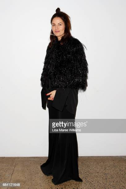 Designer Kym Ellery arrives ahead of the Ellery X Etihad Airways event at MercedesBenz Fashion Week Resort 18 Collections at The Elston Room...