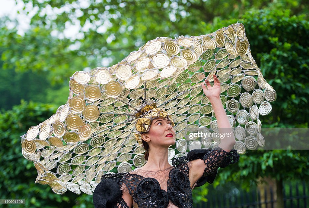 Designer Larisa Katz attends Ladies Day on day 3 of Royal Ascot at Ascot Racecourse on June 20, 2013 in Ascot, England.