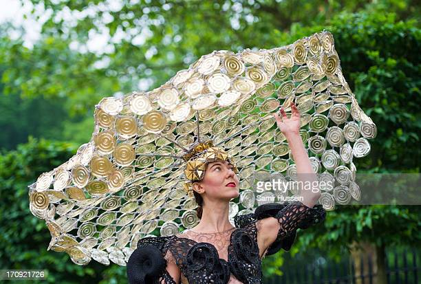 Designer Larisa Katz attends Ladies Day on day 3 of Royal Ascot at Ascot Racecourse on June 20 2013 in Ascot England