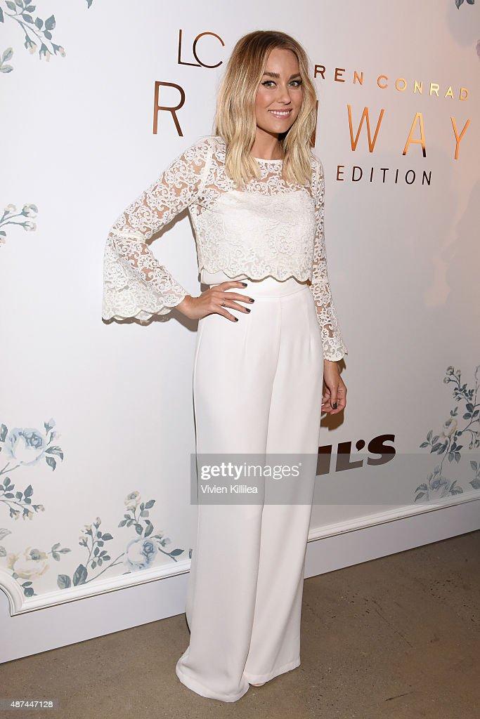 LC Lauren Conrad - Backstage - Spring 2016 New York Fashion Week