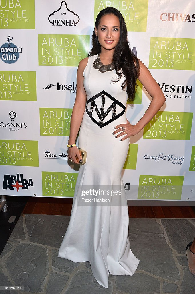Designer Layana Aguilar attends the Aruba In Style 2013 Kick-Off party at Westin Aruba Resort on November 7, 2013 in Aruba, Aruba.