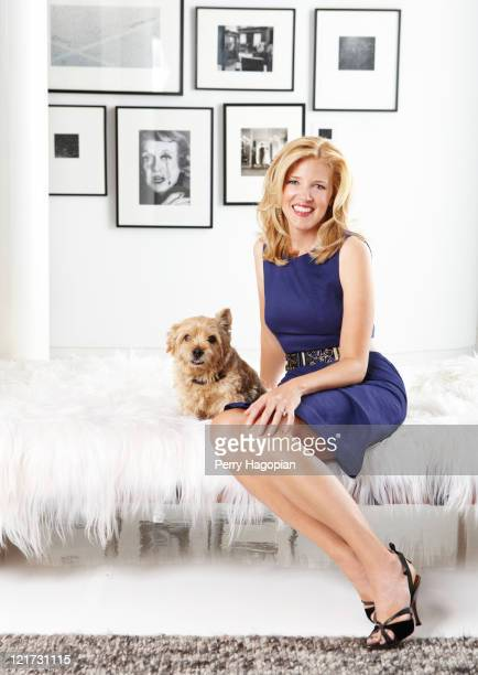 Designer Lela Rose is photographed for Town Country Magazine on August 1 2010 in New York City
