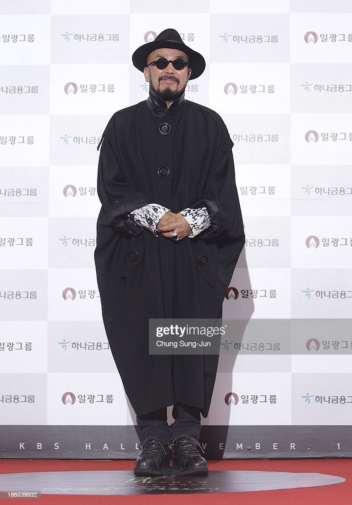 Designer Lie Sang-Bong arrives for the 50th Daejong Film Awards at KBS hall on November 1, 2013 in Seoul, South Korea.