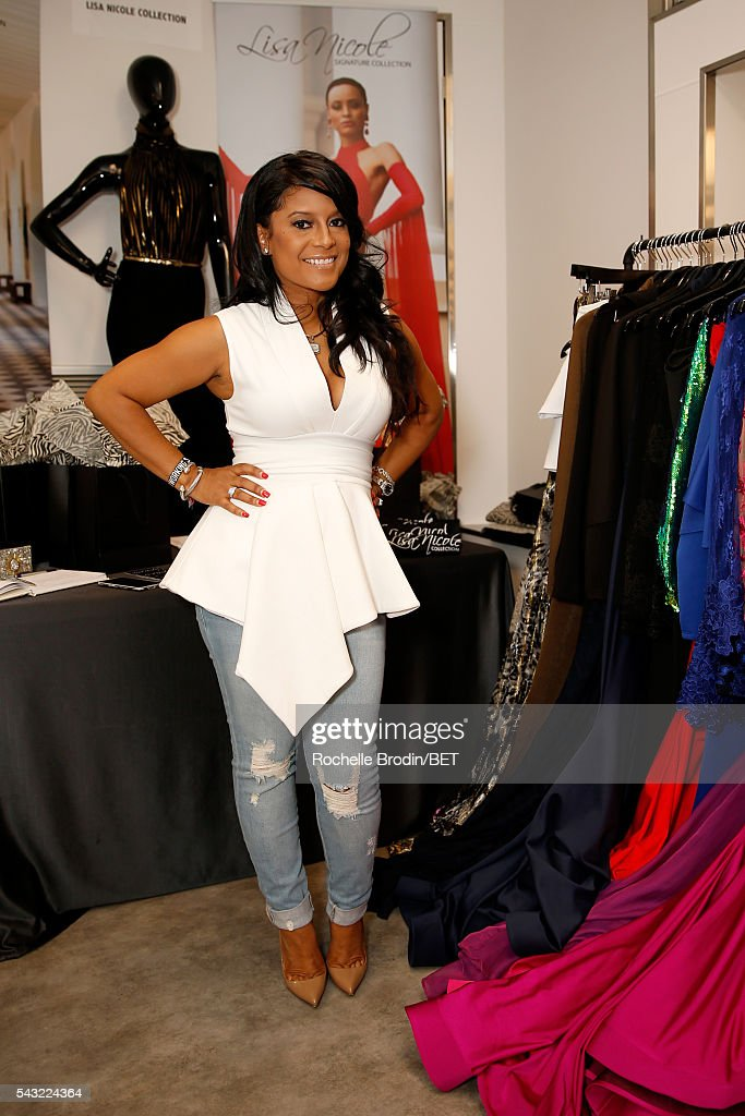 Designer Lisa Nicole Cloud attends the BETX gifting suite during the 2016 BET Experience on June 26, 2016 in Los Angeles, California.