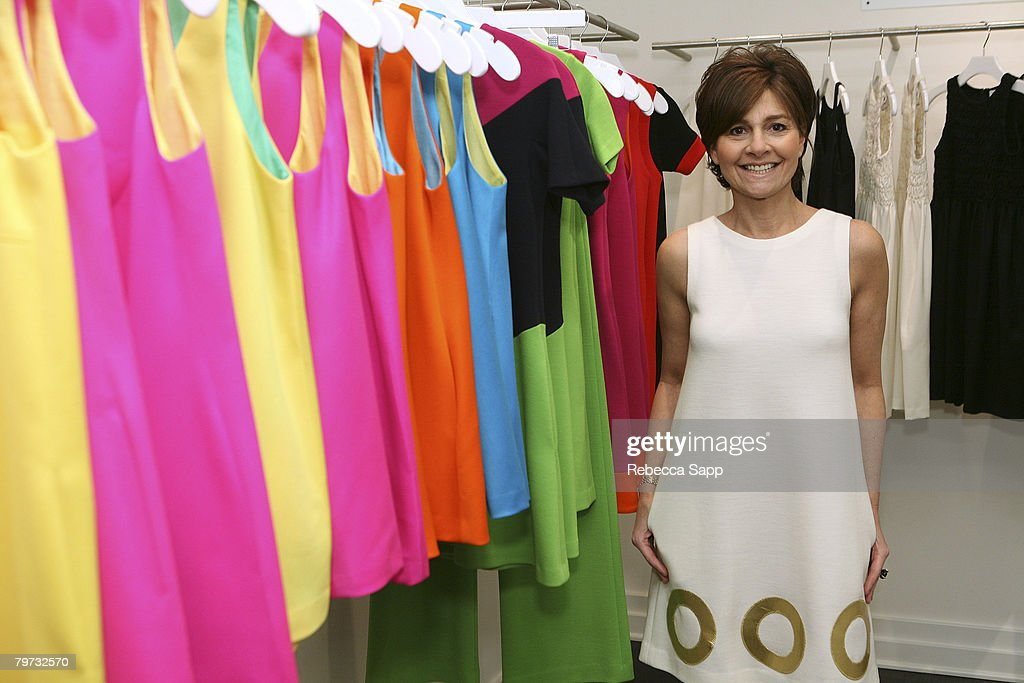 Designer Lisa Perry at Lisa Perry's 'POP' ShopInShop at Decades on February 12 2008 in Los Angeles California