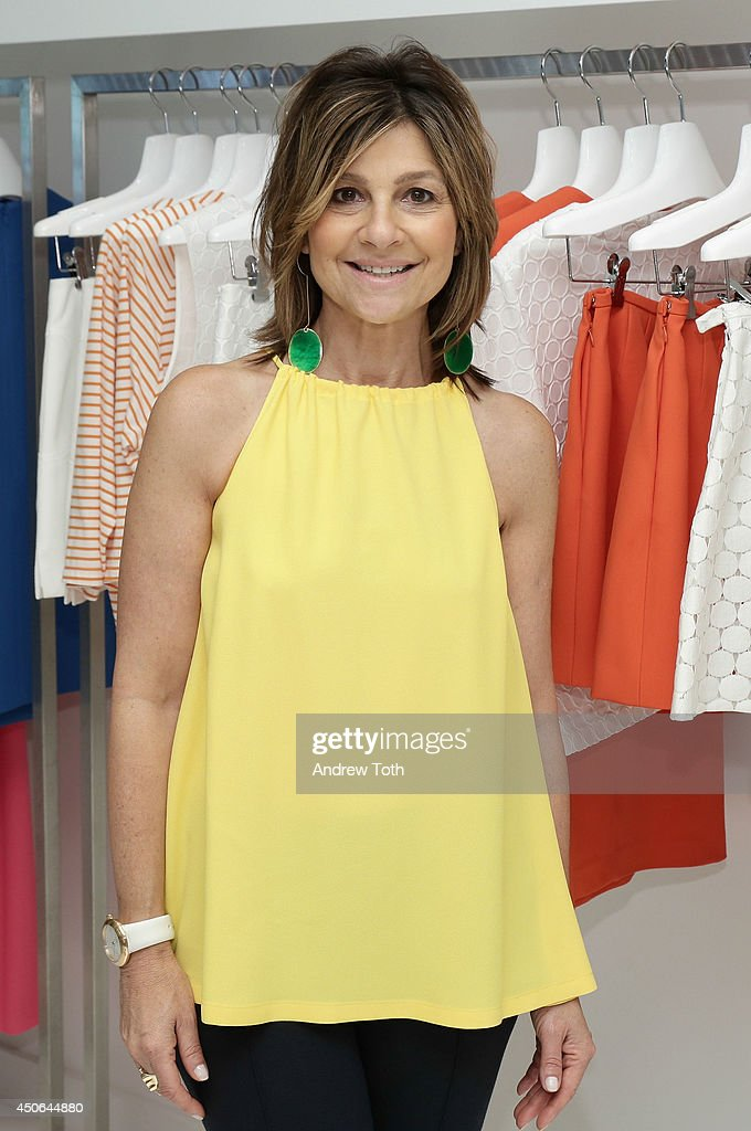Designer Lisa Perry attends Hamptons Magazine celebrates The New Lisa Perry store on June 14 2014 in East Hampton New York