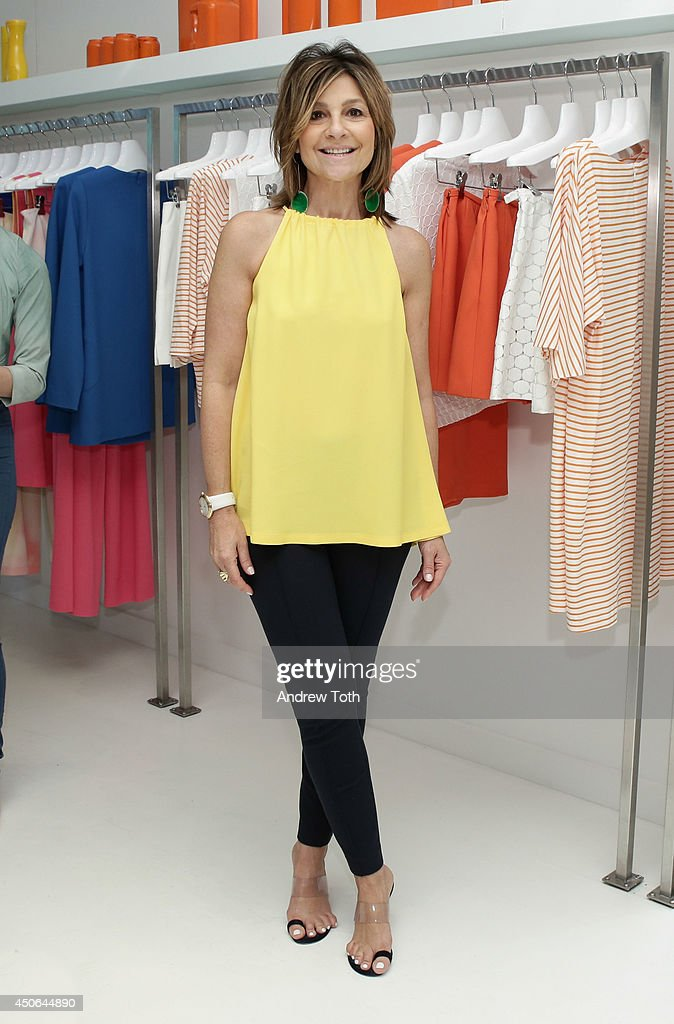 Designer Lisa Perry attends Hamptons Magazine celebrates The New Lisa Perry store on June 14, 2014 in East Hampton, New York.