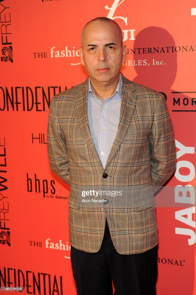 Designer Louis Verdad arrives at the 5th Annual Designer & The Muse Hosted By Kathy Hilton at Mr. C Beverly Hills on October 23, 2013 in Beverly Hills, California.