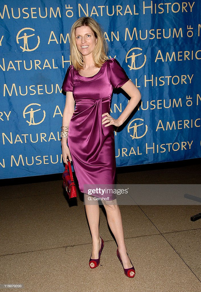 Designer Lucy Sykes arrives to the American Museum of Natural History Winter's Dance at the American Museum of Natural History on March 11 2008 in...