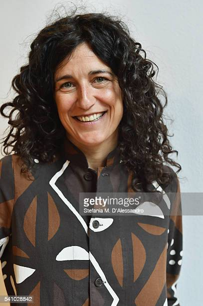 Designer Ludovica Diligu of LaboArt attends Lancia Time Award Ceremony during Milan Men's Fashion Week SS17 on June 18 2016 in Milan Italy
