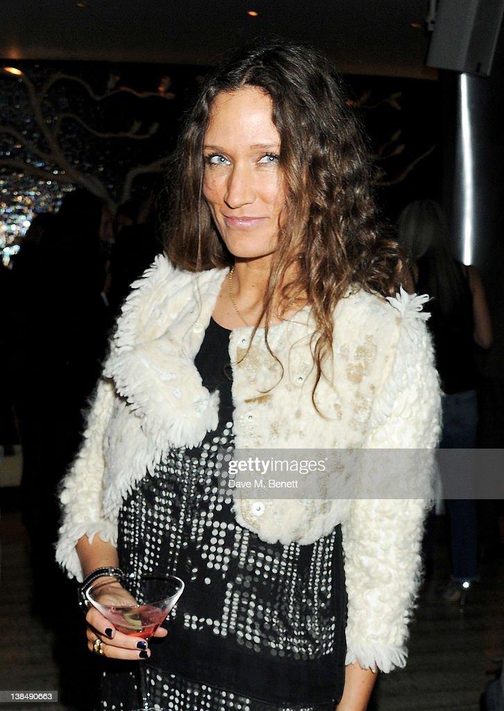 Designer Lulu Kennedy attends the BFC/Vogue Designer Fashion Fund cocktails at Nobu Berkeley St on February 7 2012 in London England