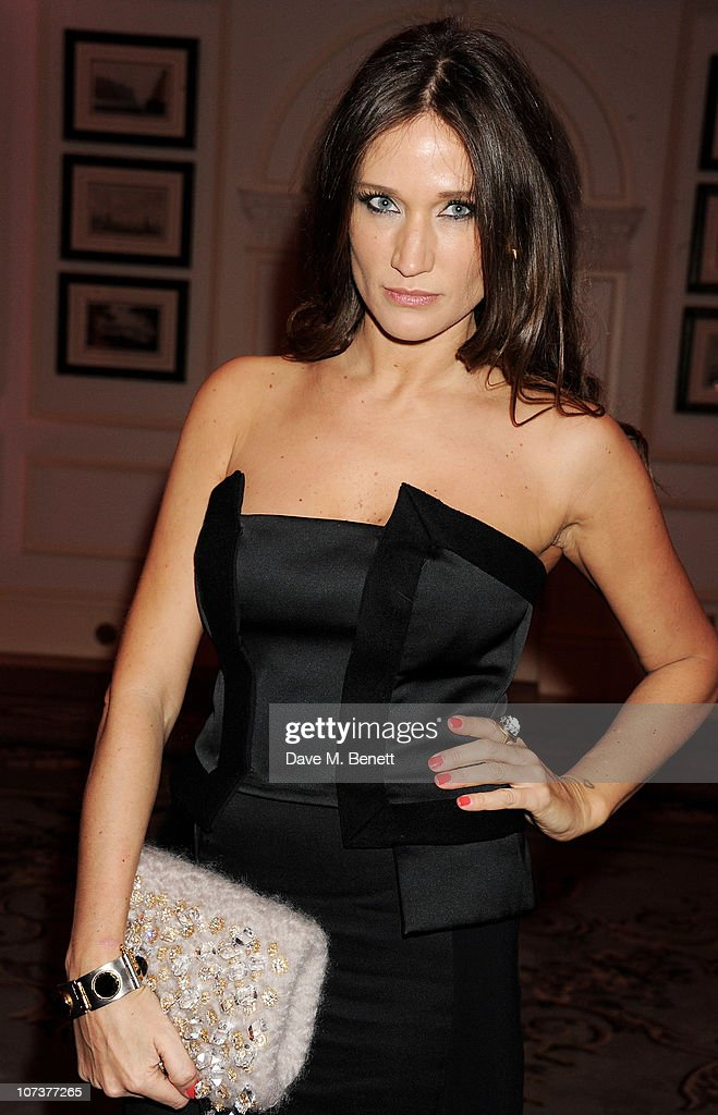 Designer Lulu Kennedy attends the British Fashion Awards 2010 Cocktail Reception at The Savoy Hotel on December 7 2010 in London England