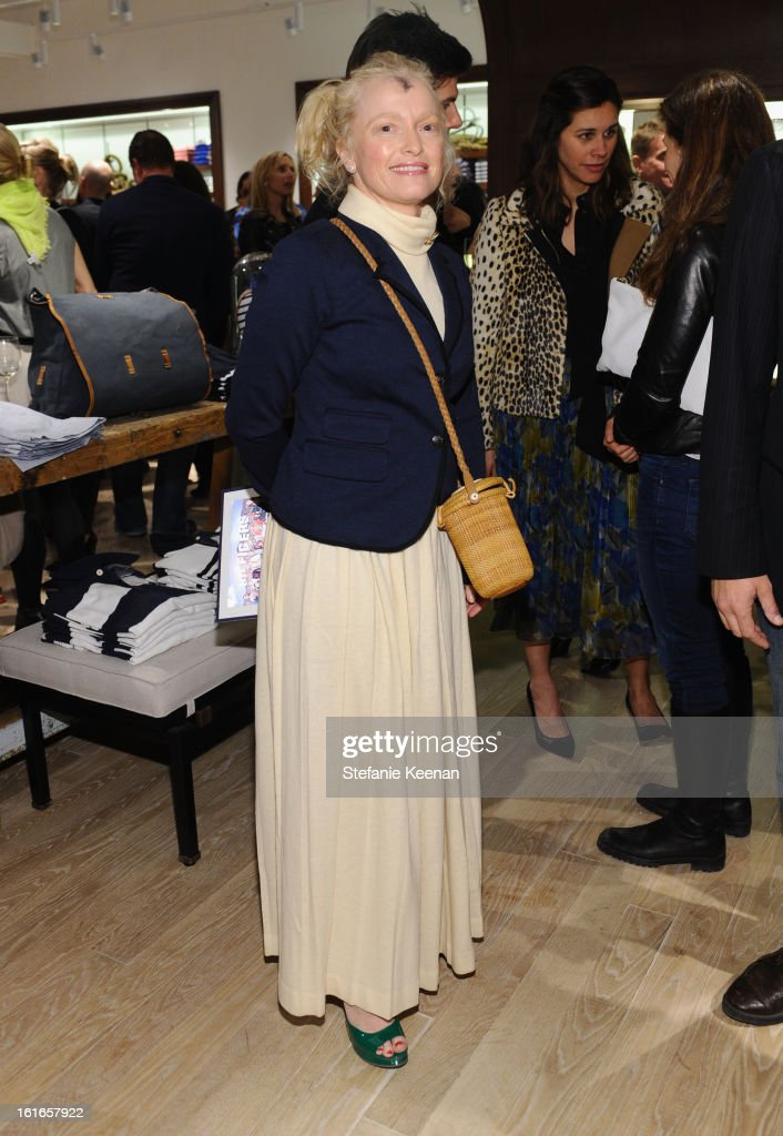 Designer Lulu Powers attends Tommy Hilfiger New West Coast Flagship Opening on Robertson Boulevard on February 13, 2013 in West Hollywood, California.