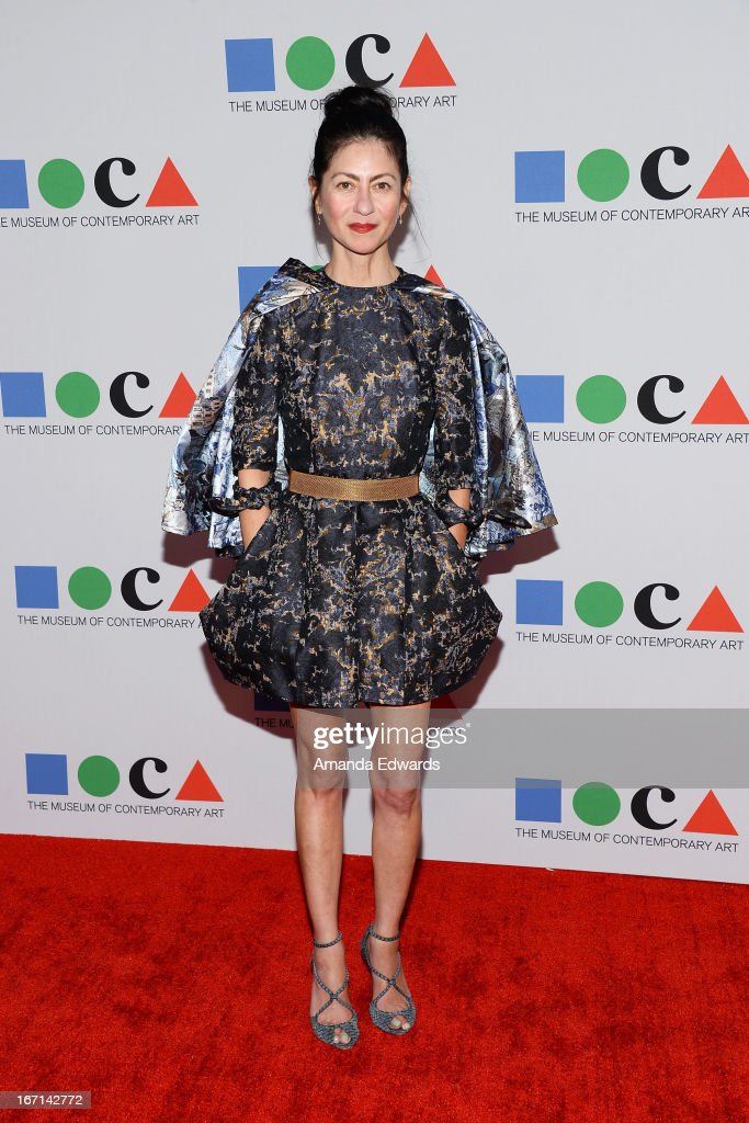 Designer Magda Berliner arrives at the 'Yesssss!' 2013 MOCA Gala, celebrating the opening of the exhibition Urs Fischer at MOCA Grand Avenue on April 20, 2013 in Los Angeles, California.