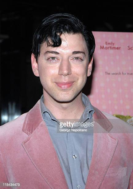 Designer Malan Briton at the NY Premiere Of 'Lars And The Real Girl' at the Paris Theatre in New York October 3 2007