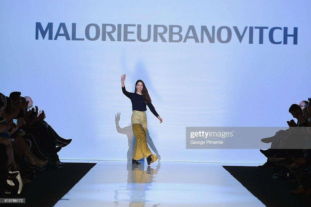 Toronto Fashion Week Fall 2016 Collections - MALORIE URBANOVITCH - Runway