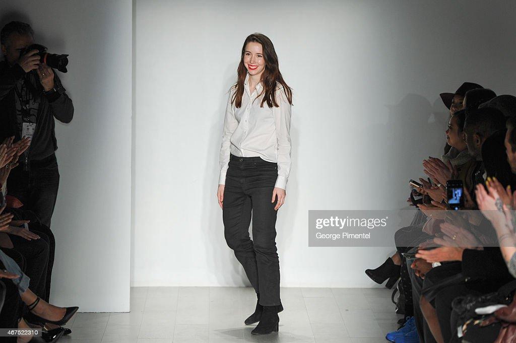 World MasterCard Fashion Week Fall 2015 Collections - Malorie Urbanovitch