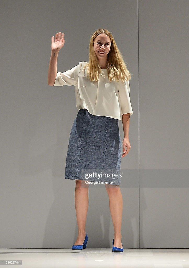 World MasterCard Fashion Week Spring 2013 Collection in Toronto - Mercedes-Benz Start Up National Final - Runway