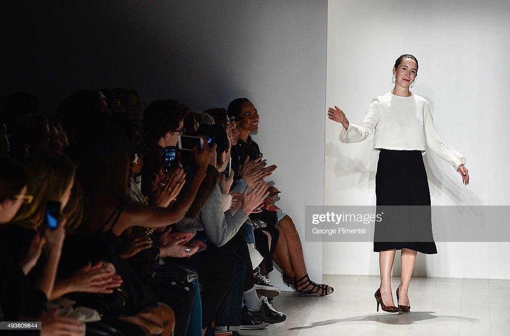 World MasterCard Fashion Week Spring 2016 Collections In Toronto - Malorie Urbanovitch - Presentation