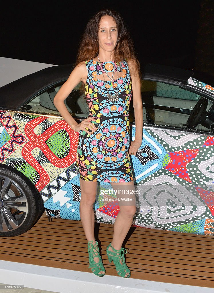 Designer Mara Hoffman attends the Mercedes-Benz Fashion Week Swim 2014 Official Kick Off Party at the Raleigh Hotel on July 18, 2013 in Miami Beach, Florida.