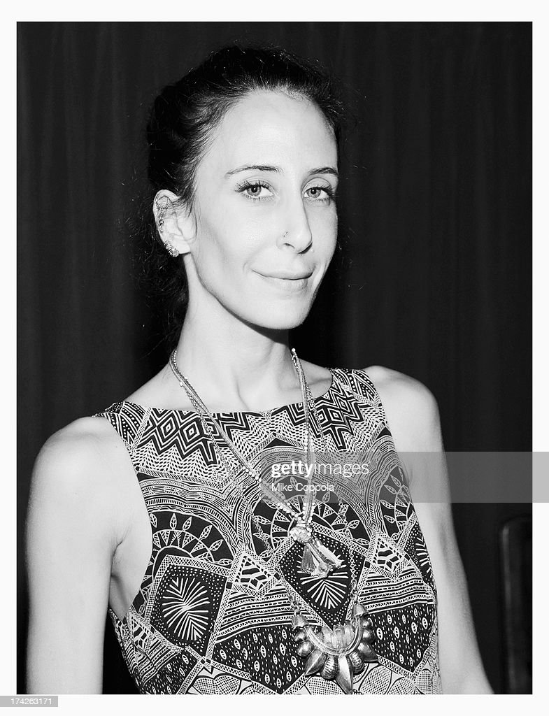 Designer Mara Hoffman seen during Mercedes-Benz Fashion Week Swim 2014 at the Raleigh on July 22, 2013 in Miami Beach, Florida.