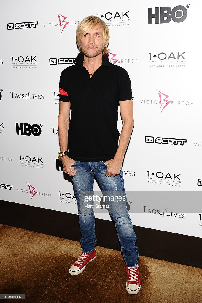Designer Marc Bouwer attends the 2011 Tags 4 Lives 'It's A Star Thing' benefit at 1OAK on September 3, 2011 in New York City.