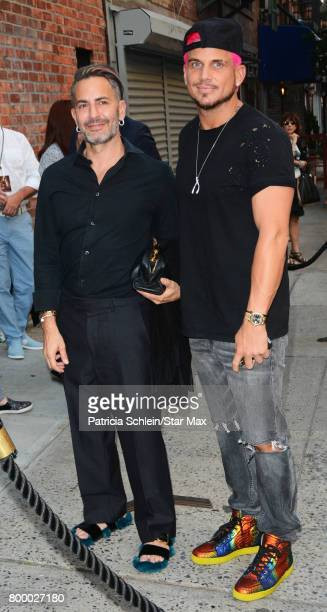 Designer Marc Jacobs and Char Defrancesco are seen on June 22 2017 in New York City