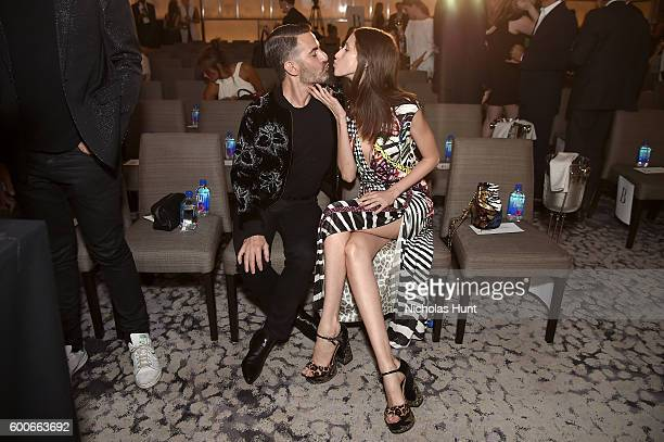 Designer Marc Jacobs and model Anna Cleveland attend the The Daily Front Row's 4th Annual Fashion Media Awards at Park Hyatt New York on September 8...