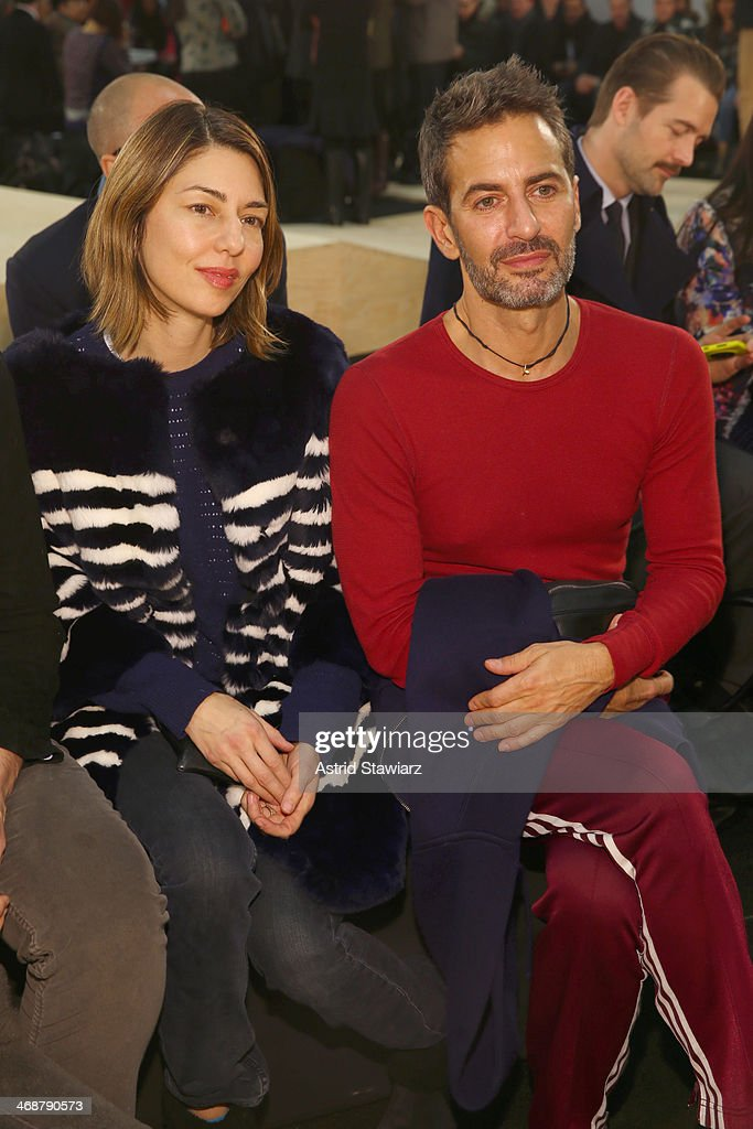 Designer Marc Jacobs and Sofia Coppola attends the Marc By Marc Jacobs fashion show during MercedesBenz Fashion Week Fall 2014 at Pier 36 on February...
