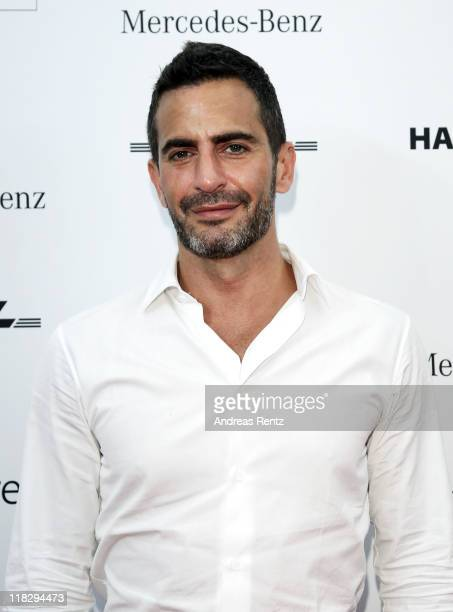 Designer Marc Jacobs at the Designer for Tomorrow Show during MercedesBenz Fashion Week Berlin Spring/Summer 2012 at the Brandenburg Gate on July 6...