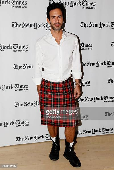 Designer Marc Jacobs attends the 4th annual New York Times Sunday with the Magazine at TheTimesCenter on May 3 2009 in New York City