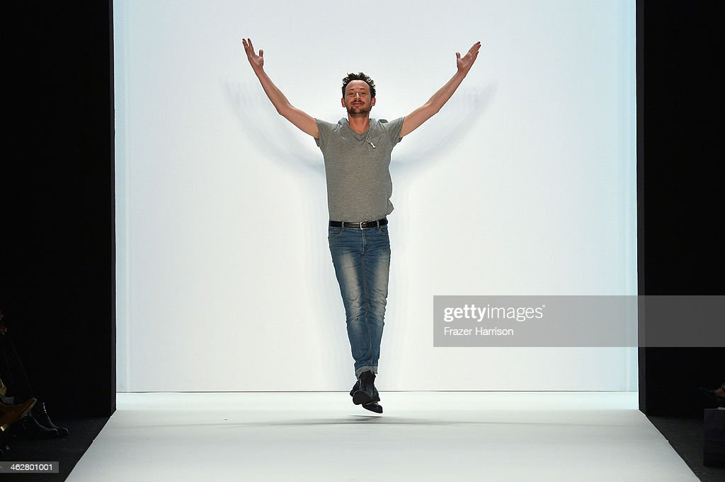 Marcel Ostertag Show - Mercedes-Benz Fashion Week Autumn/Winter 2014/15