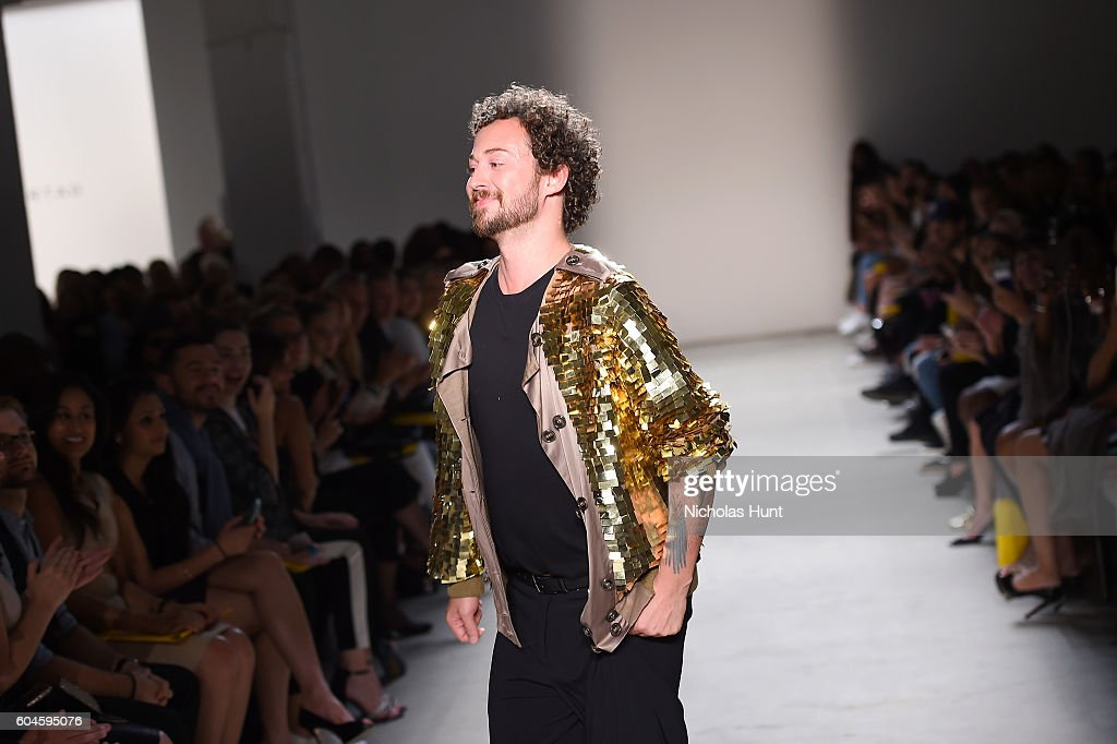 Marcel Ostertag - Front Row - September 2016 - New York Fashion Week: The Shows